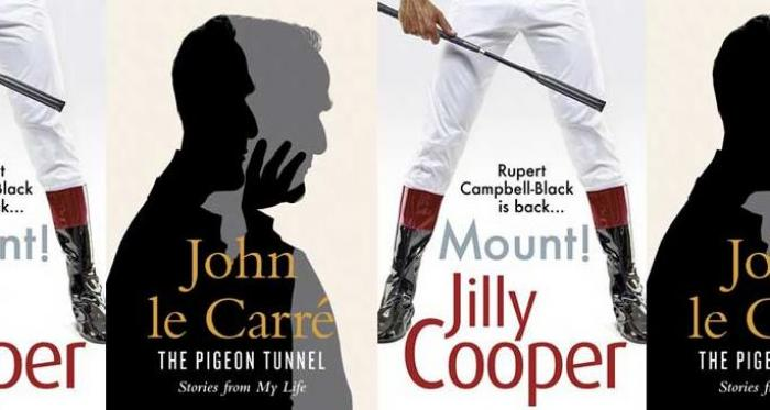 News: John le Carré and Jilly Cooper top the Sunday Times