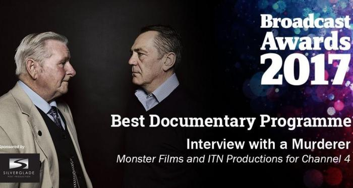 News: David Wilson wins 'Best Documentary' at 2017 Broadcast